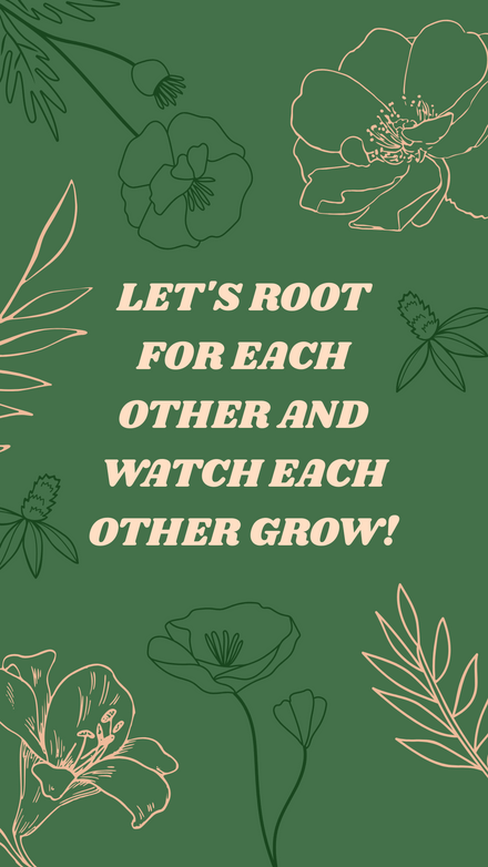 Quote: Grow! Green and Natural