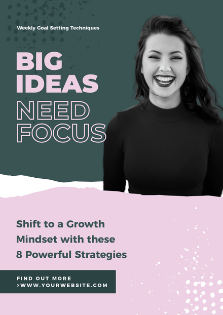 Big Ideas Torn shapes Corporate Graphic Template
