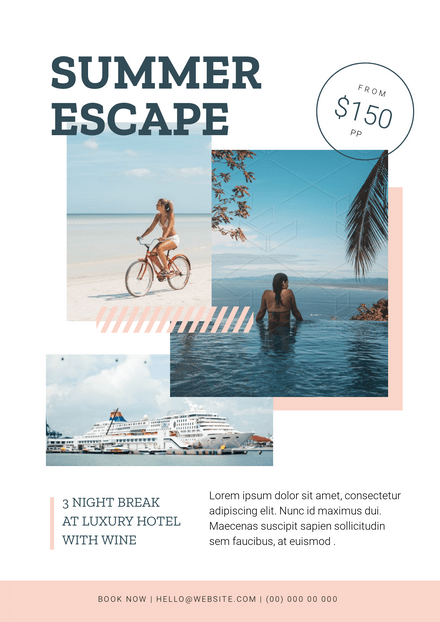 Summer Escape Holiday Template
