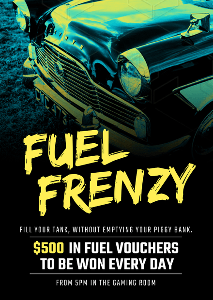 Fuel Frenzy Win Petrol Competition Template