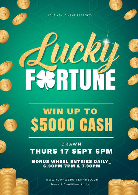Lucky Fortune  - Win Cash Competition