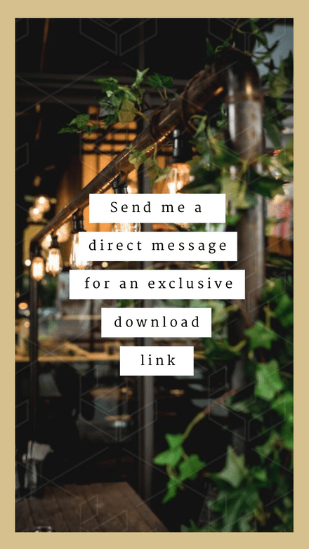 Direct Message for Download Link Template