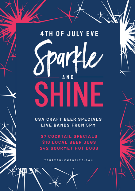 4th of July Sparkle and Shine