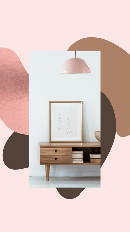 Interior Inspo - Rose Gold & Pastels Template