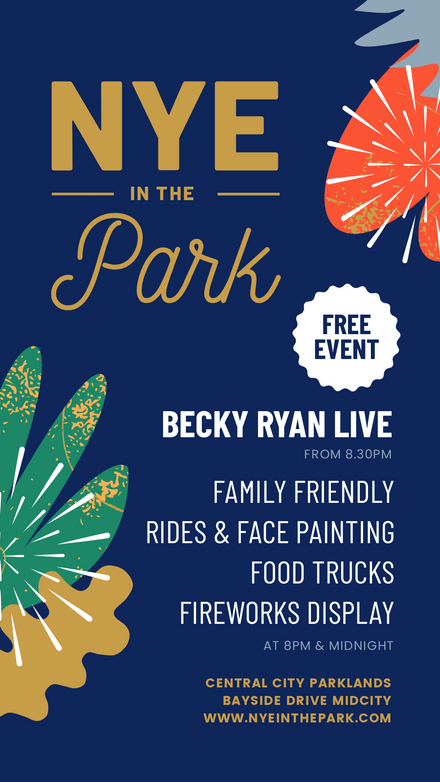 NYE in the Park Party Template