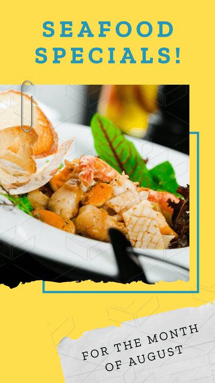 Seafood Specials!