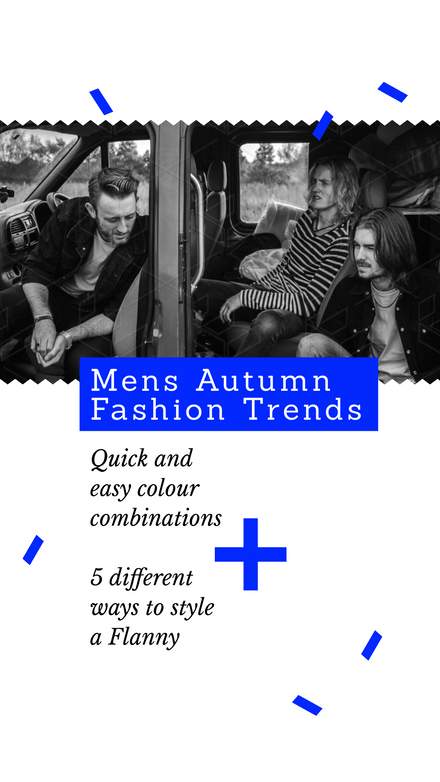 Mens Autumn Fashion Trends