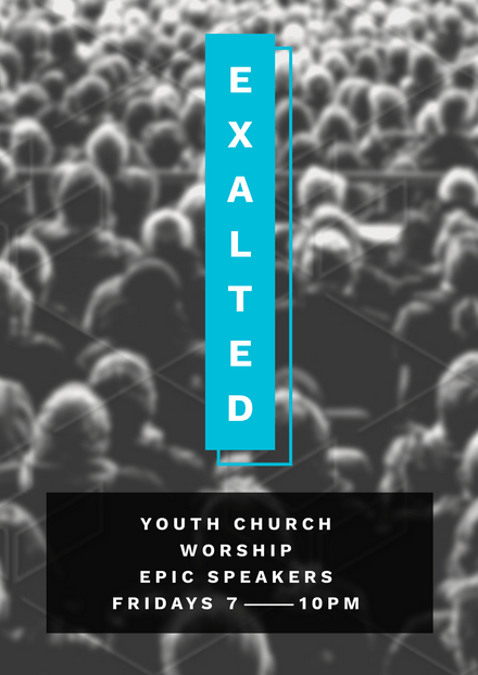 Exalted Youth Church Workshop Template