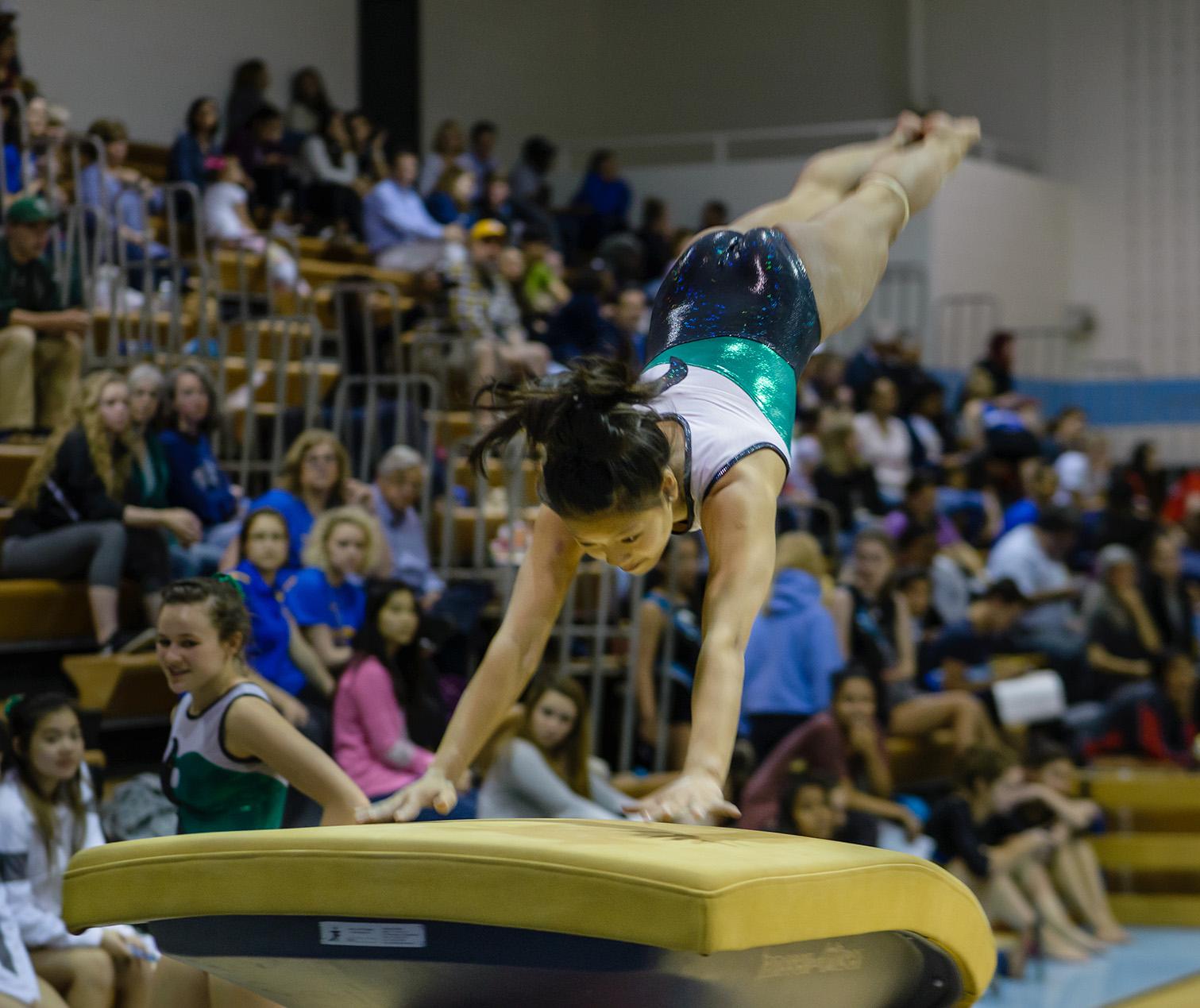 Winwin gymnastics - Walter Johnson High School Gymnast In The County Championship Competition