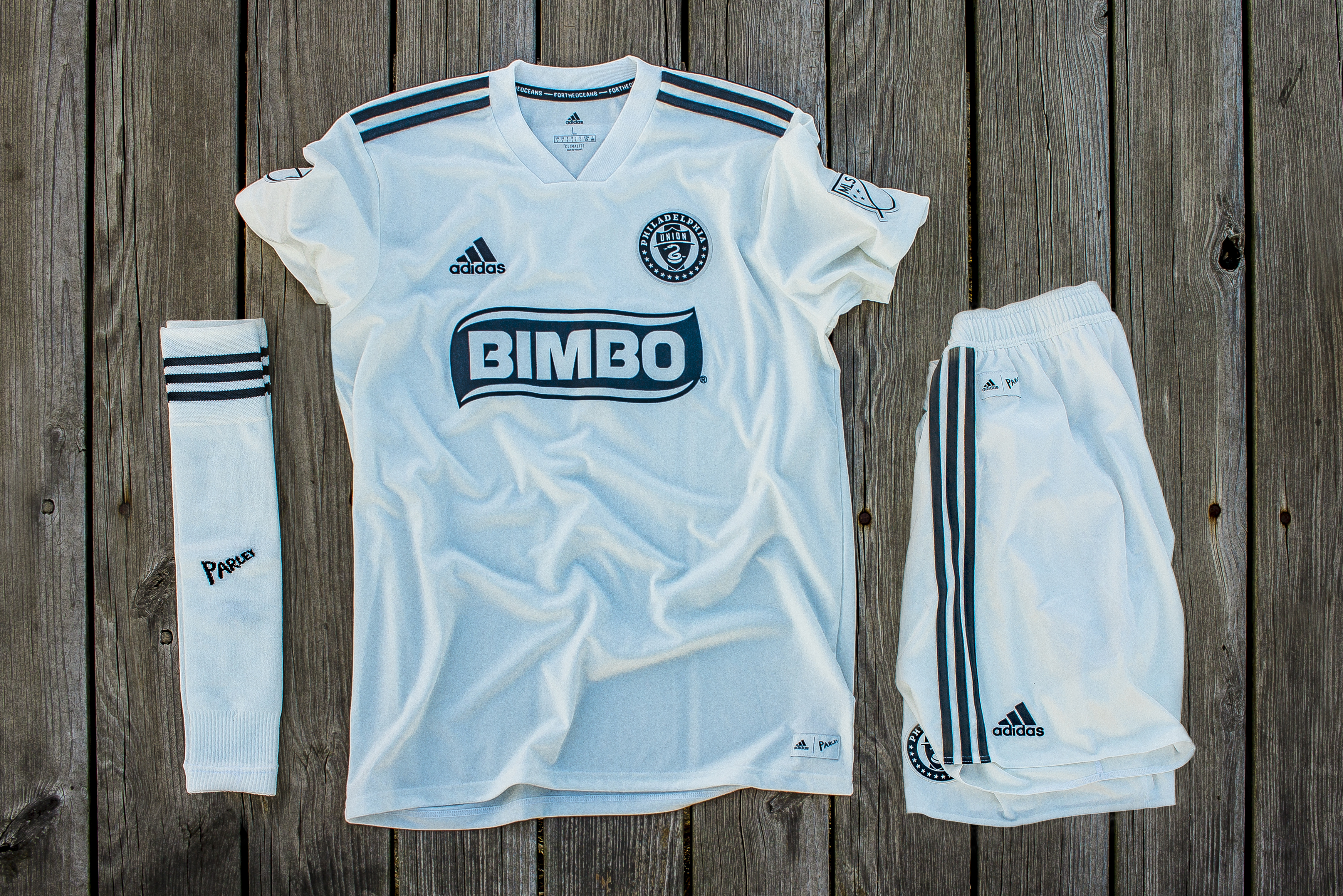 the latest 750c6 a396c PHOTOS: Parley Jersey for FC Dallas Match   Philadelphia Union