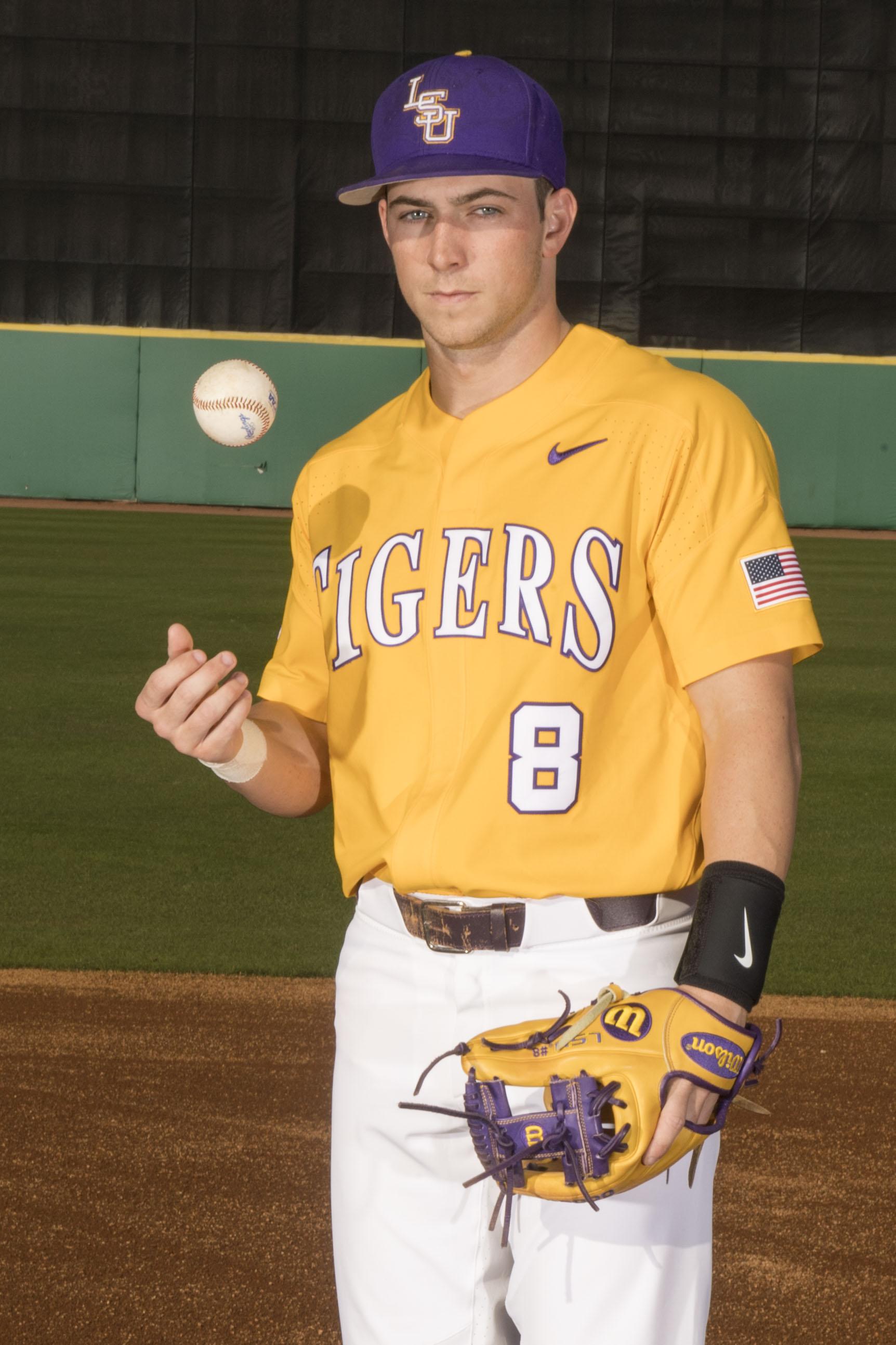 top fashion 10518 f09d2 lsu yellow baseball jersey