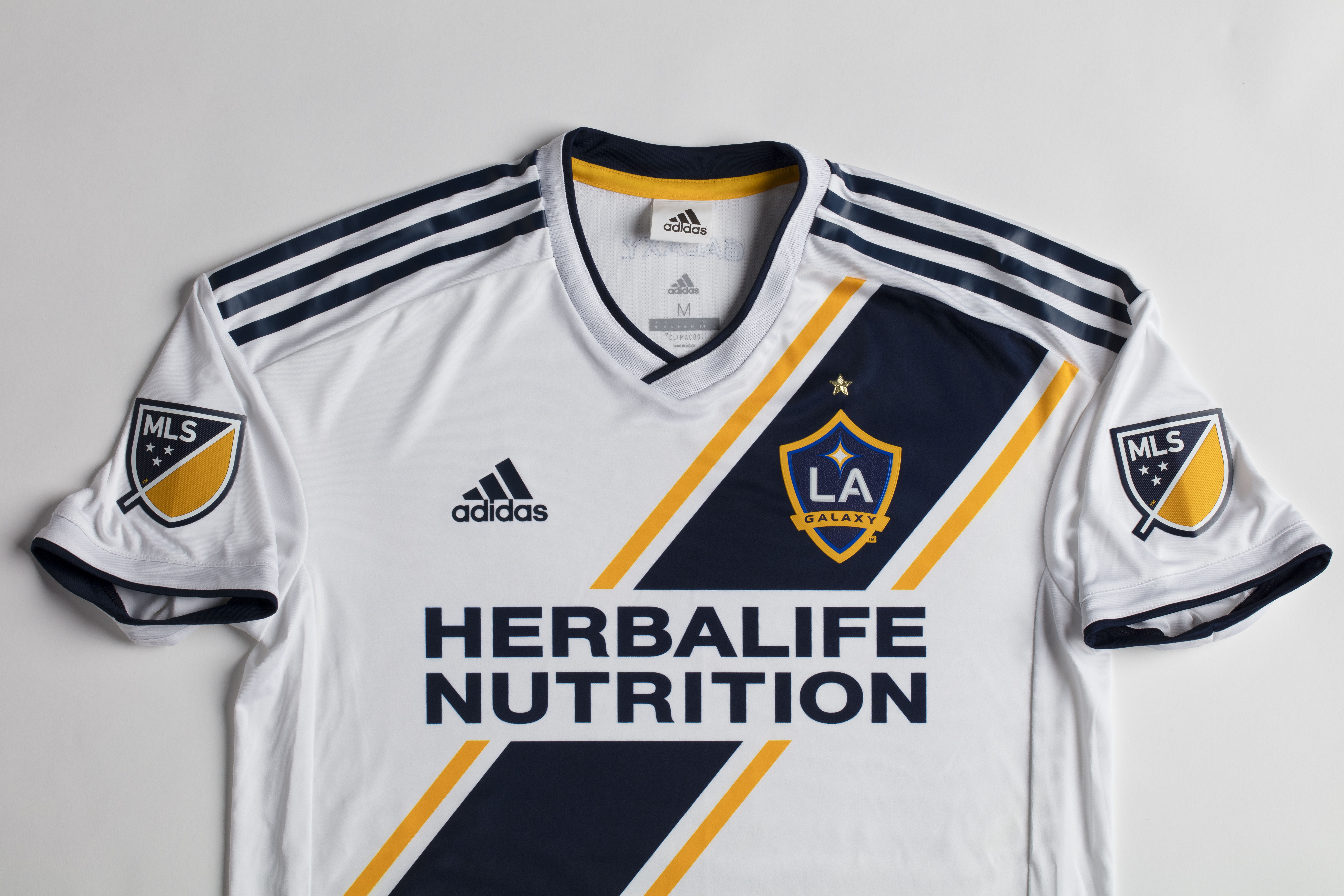 e66d7d6b2 2018 LA Galaxy primary jersey now available for purchase