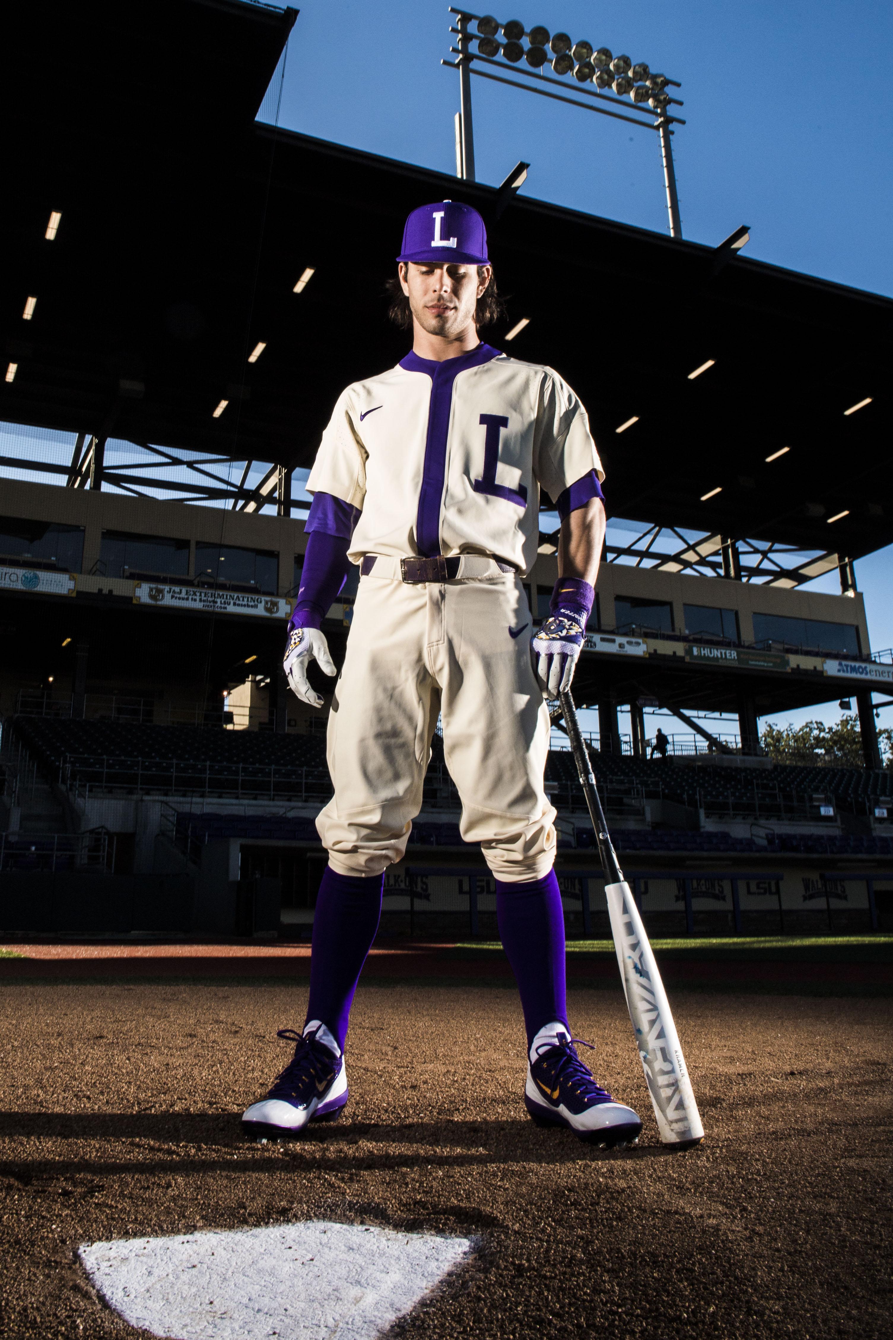 big sale c87da 9fff4 The Uniforms of LSU Baseball by LSU Athletics - LSU ...