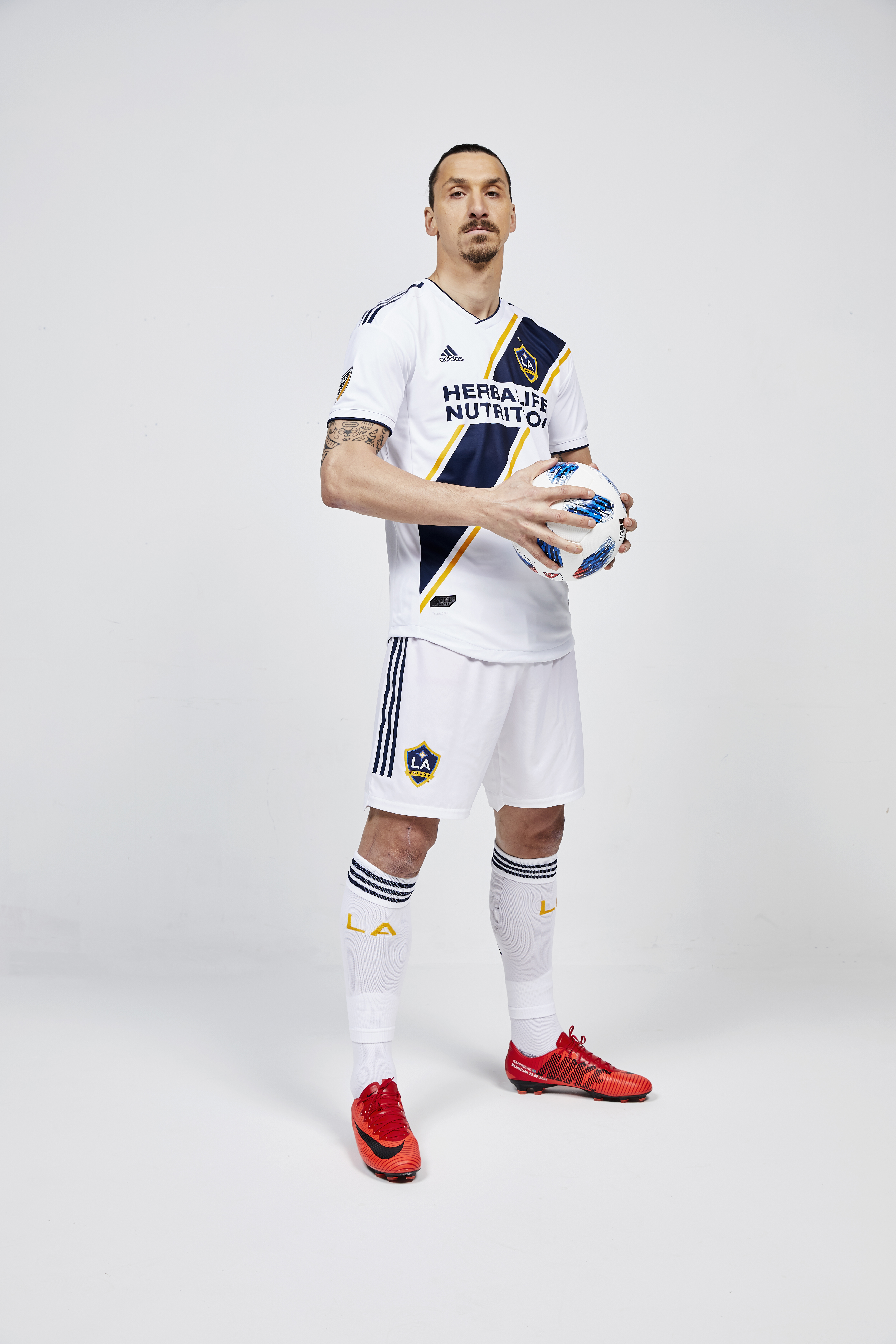 promo code 348ee 84009 Have your first look at Zlatan Ibrahimović in an LA Galaxy ...