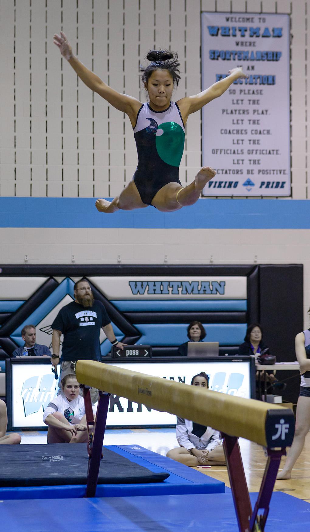 Winwin gymnastics - Walter Johnson High School Gymnast