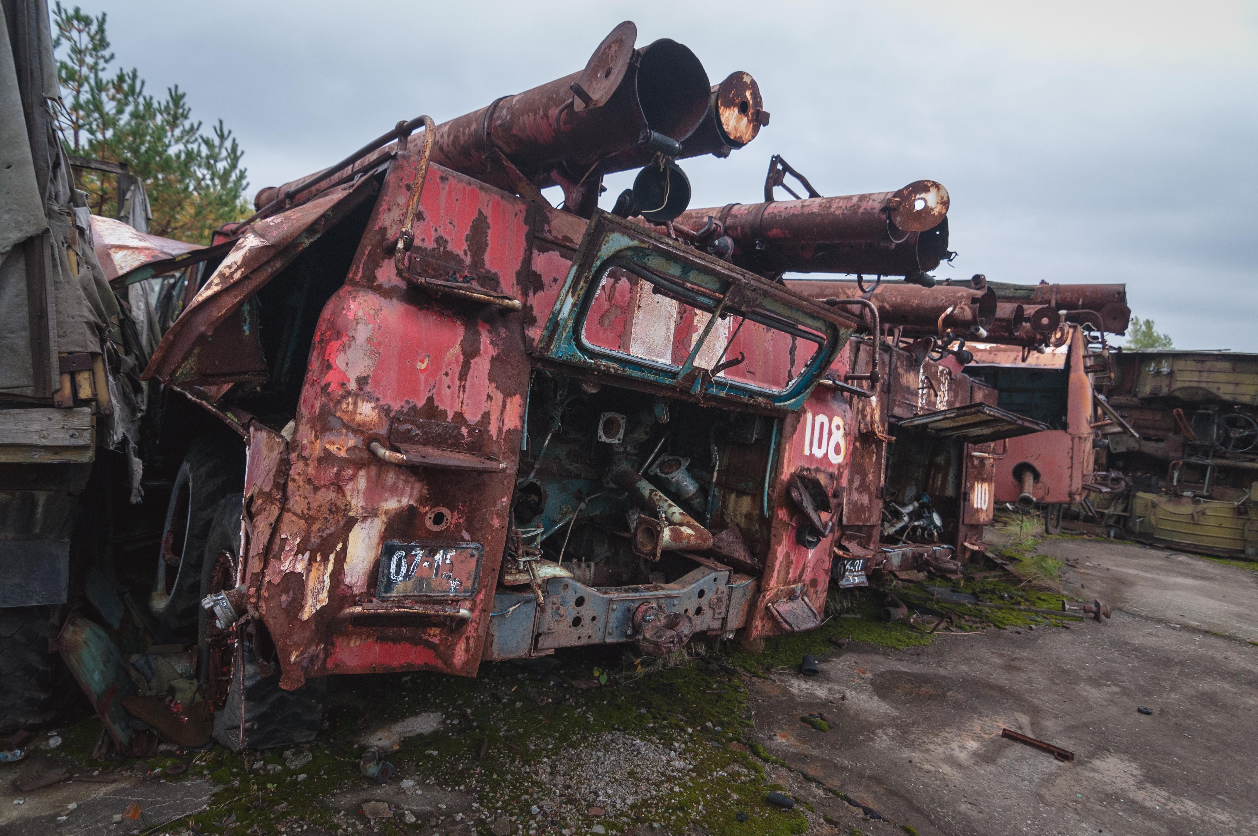Chernobyl by Andrew Leatherbarrow - Exposure