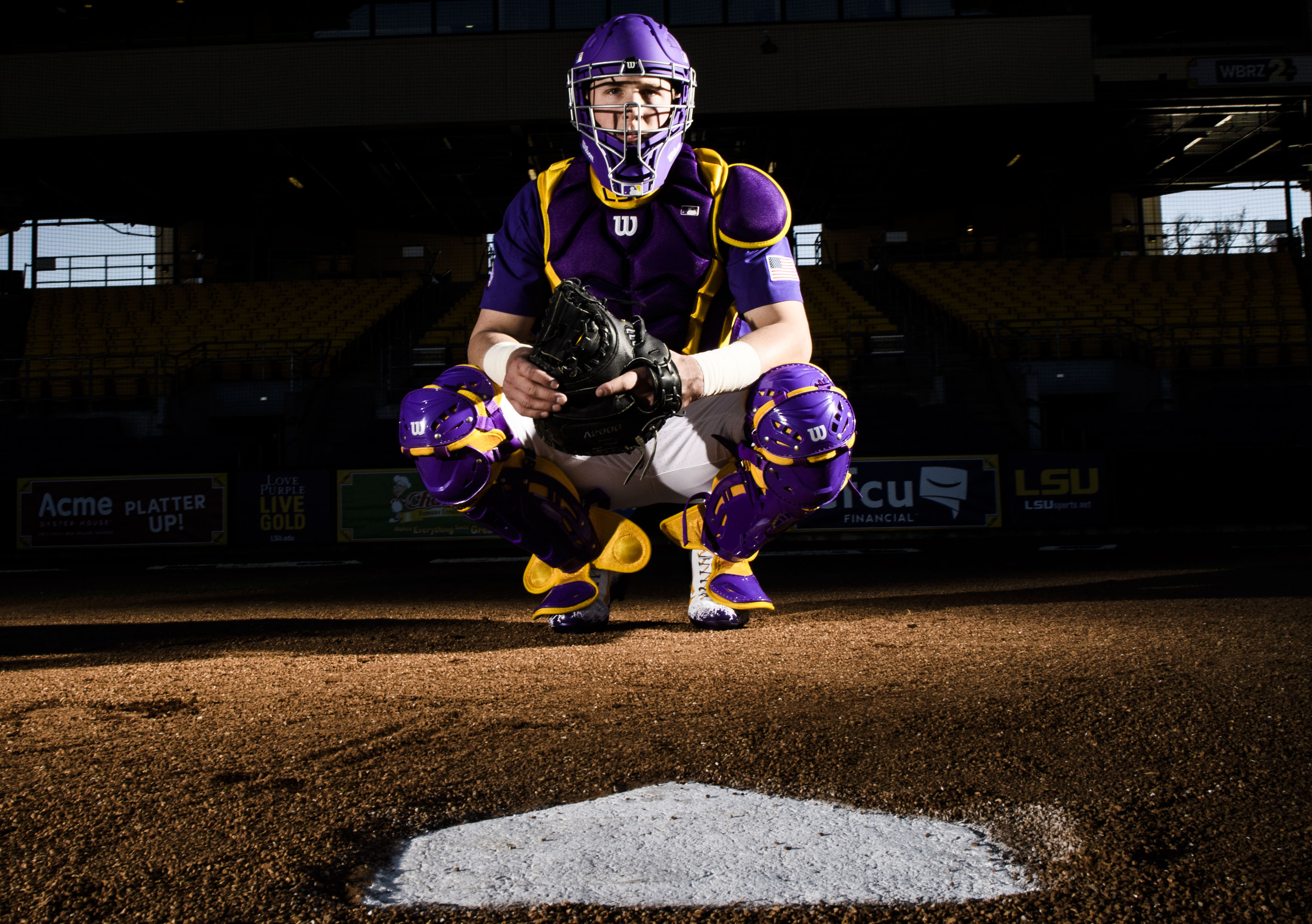 fafbb94a7 Looking sharp  LSU baseball unveils 2017 uniform combinations
