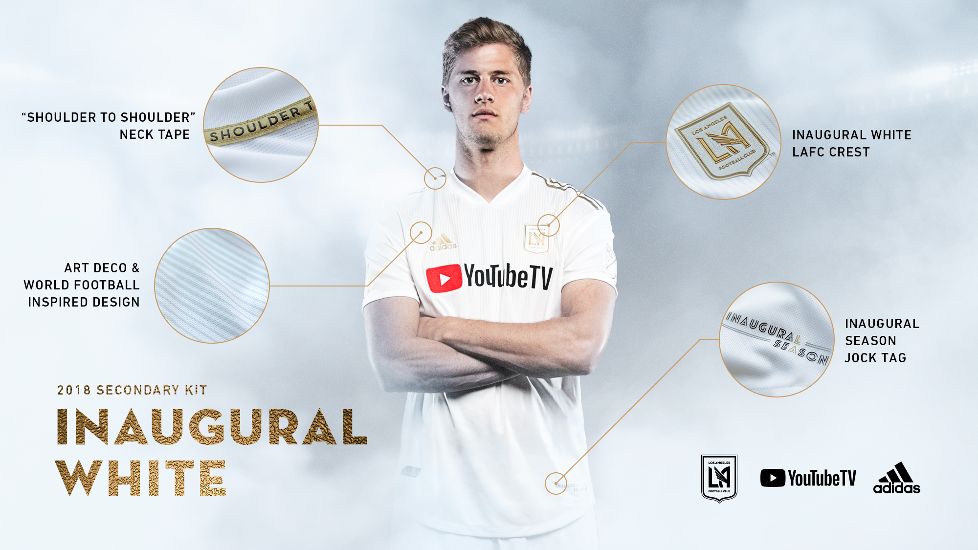 69304dc5659 Details  2018 LAFC Kit by LAFC - Los Angeles Football Club