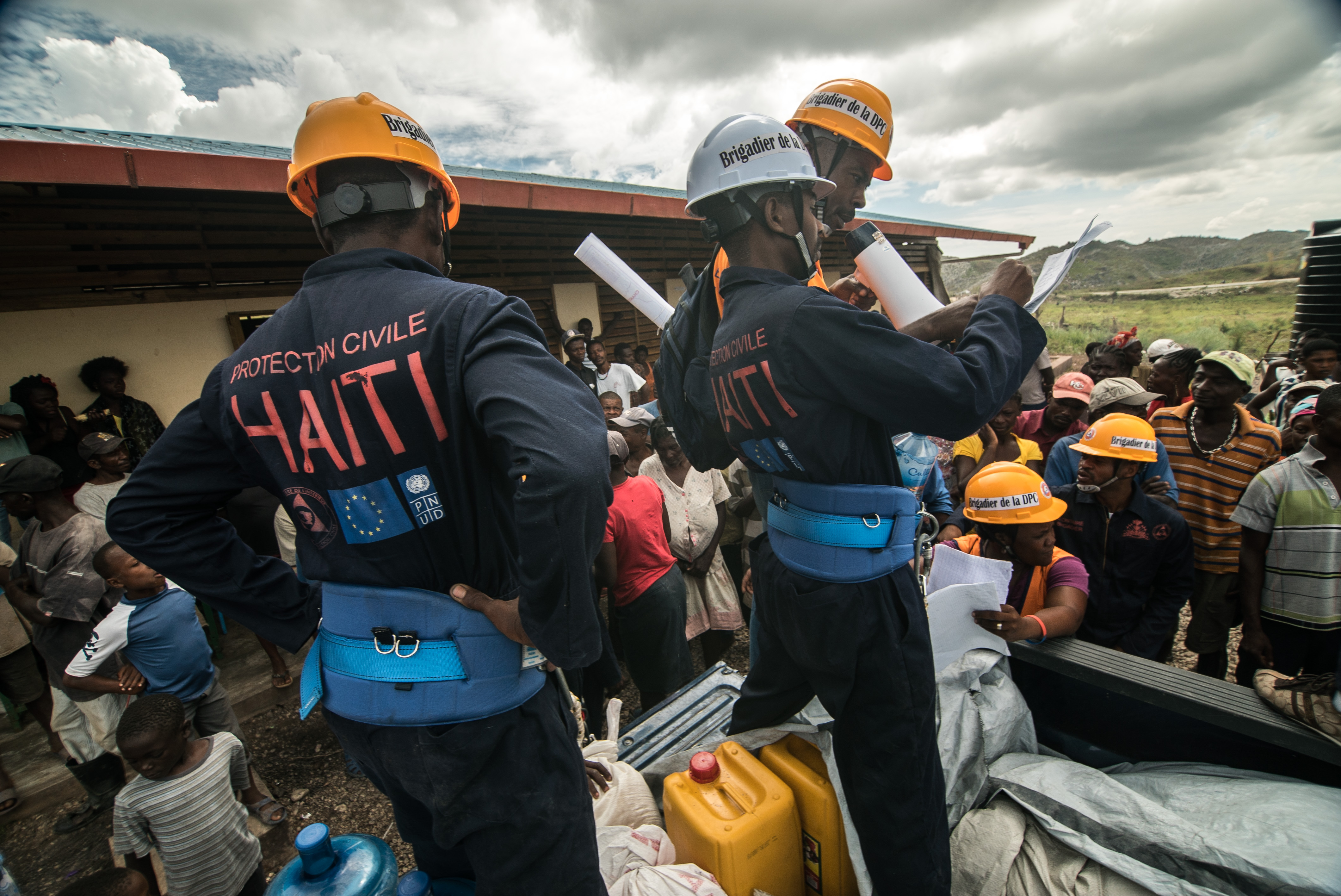 haiti civil protection volunteers put others first by united