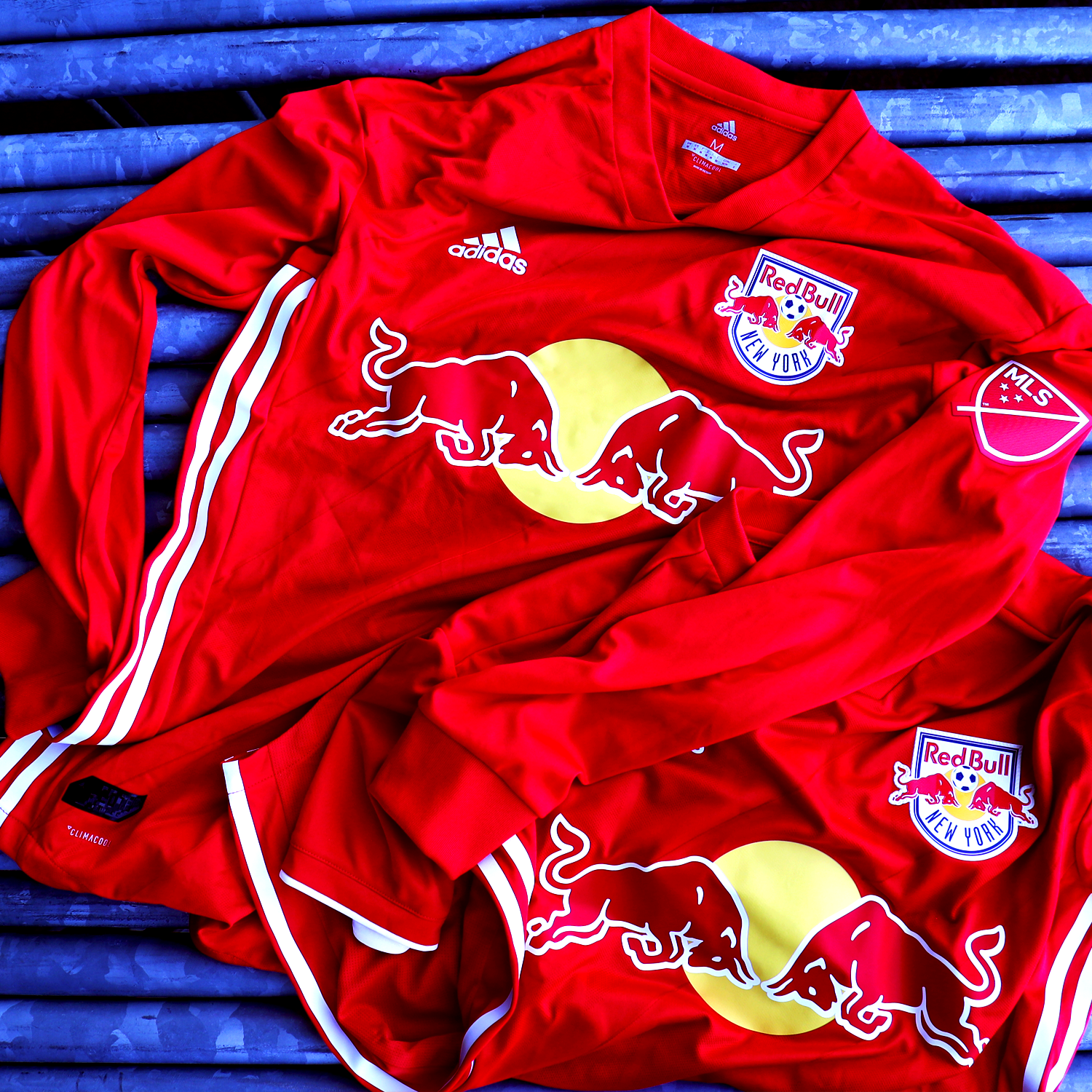 wholesale dealer b41c9 c5a8f The Red Kit is Here.   New York Red Bulls