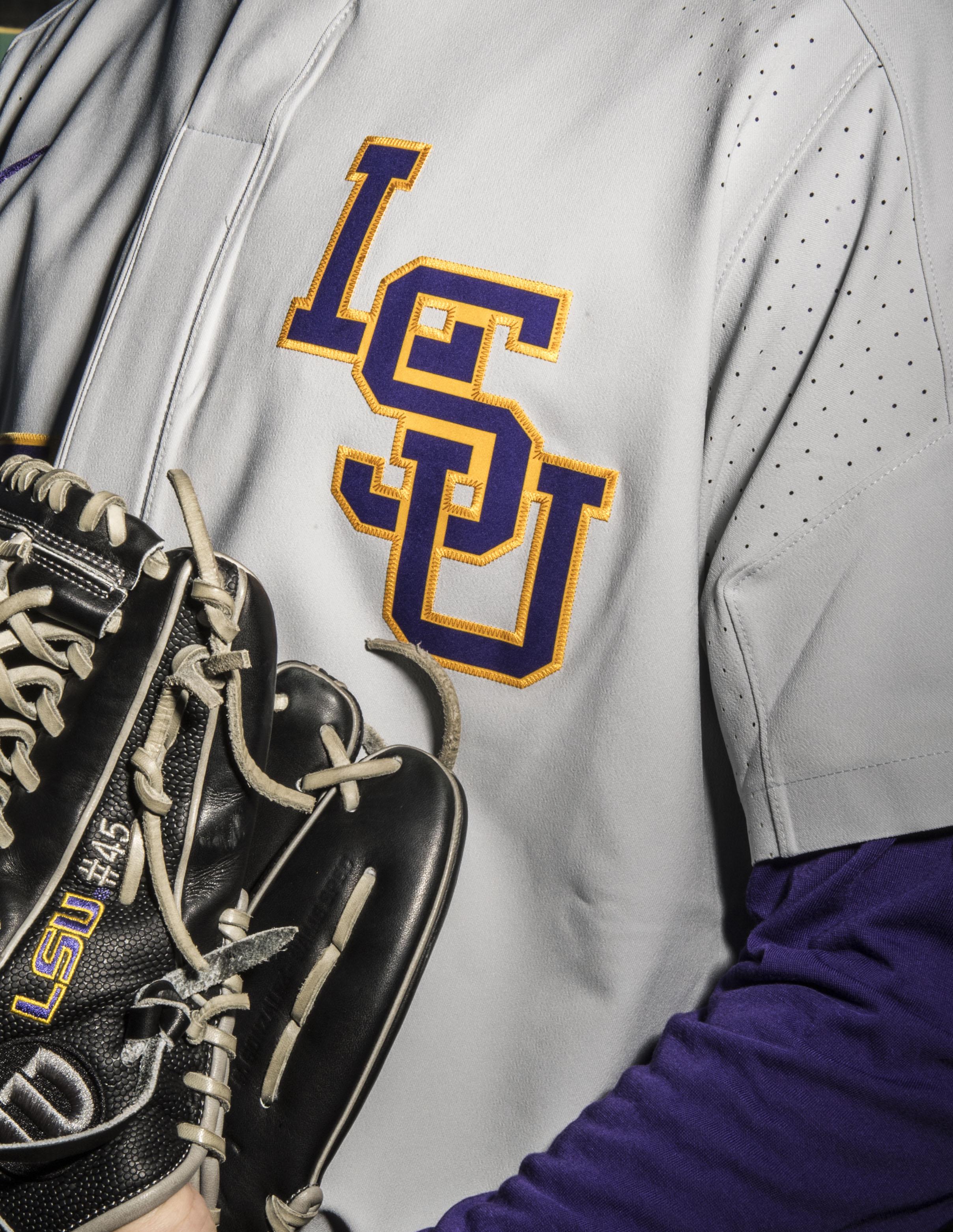 big sale fafa2 c58a6 The Uniforms of LSU Baseball by LSU Athletics - LSU ...