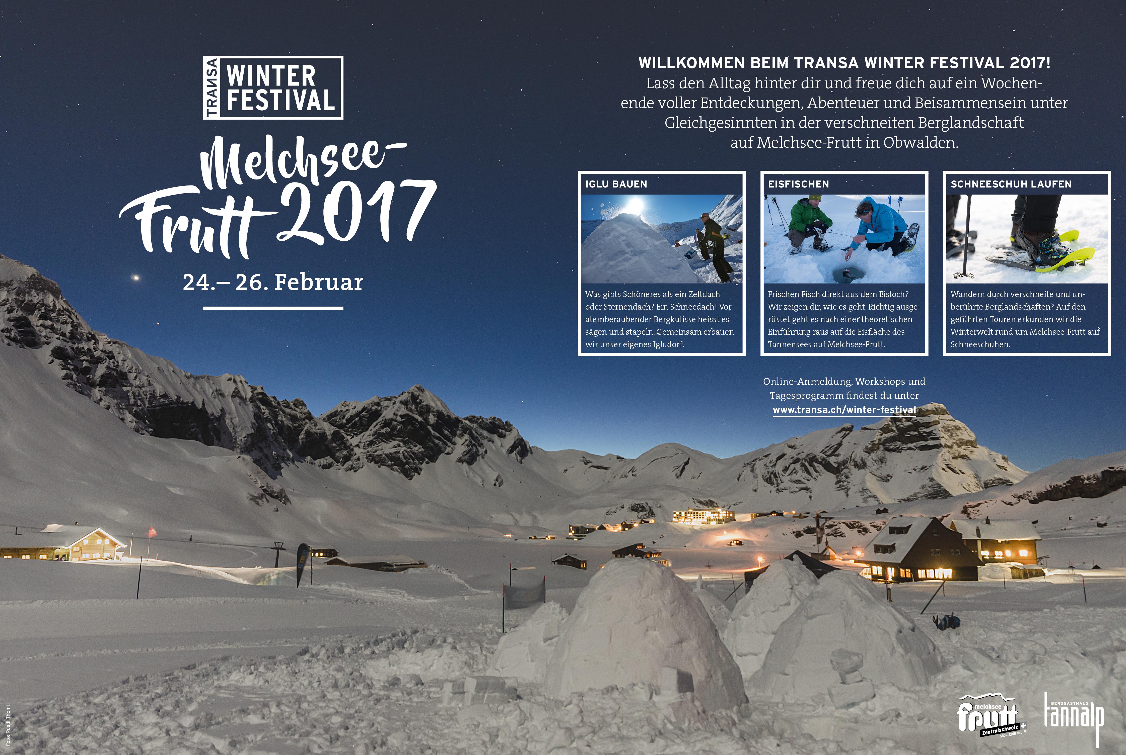 Klettersteigset Transa : Eisfischen und schneeschuhlaufen by transa travel & outdoor