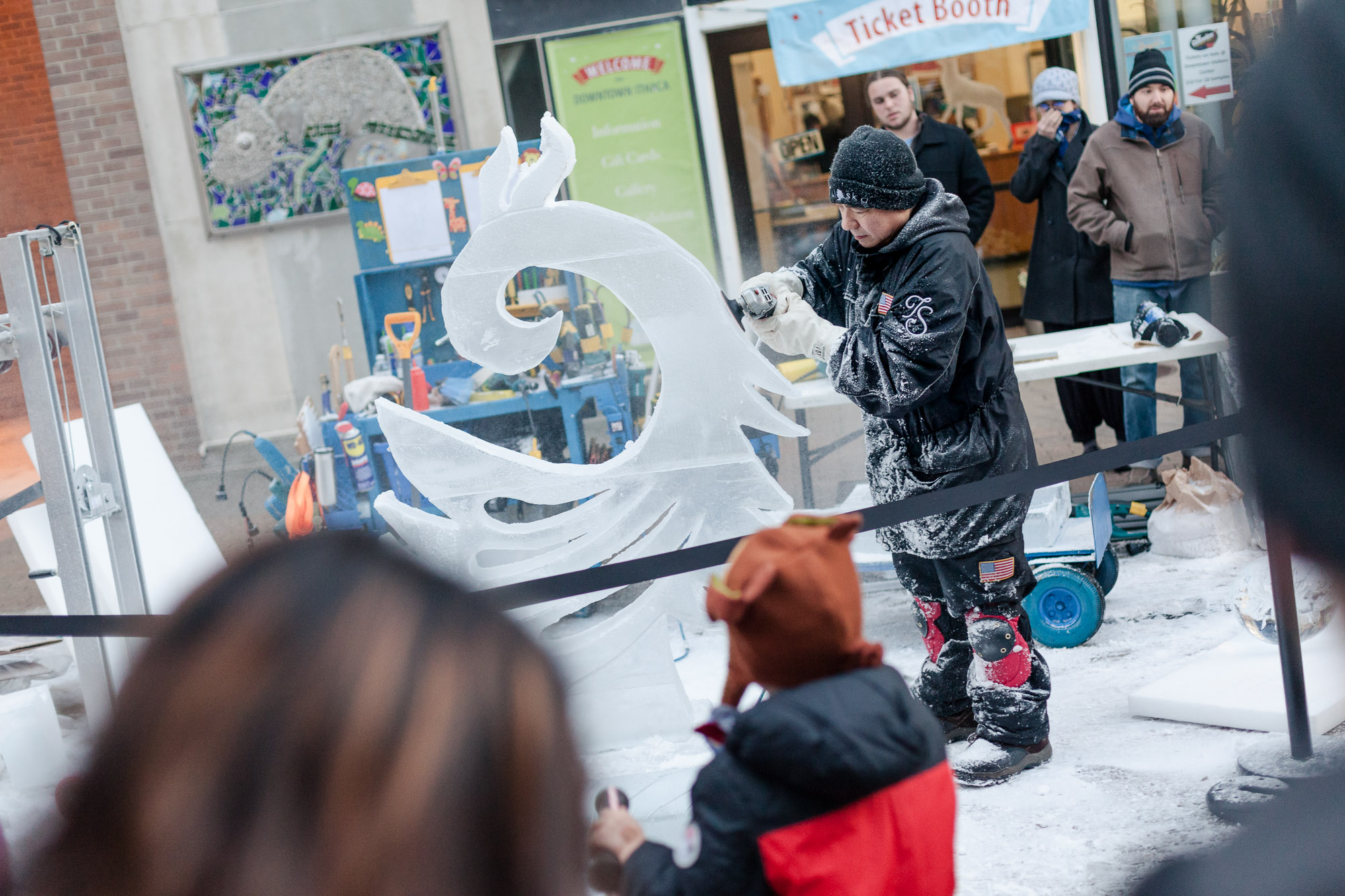 Ice Fest by Visit Ithaca
