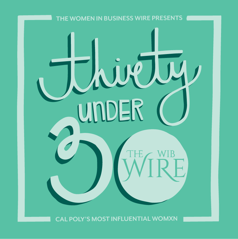475d1cc3c925 Women in Business publishes  30 Under 30  list recognizing Cal Poly ...