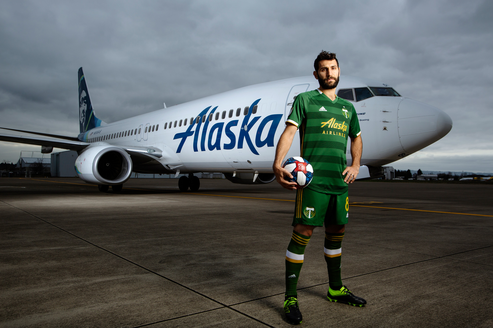 the latest 31ca0 566cc PHOTOS | The 2019-20 Portland Timbers primary kit | Portland ...