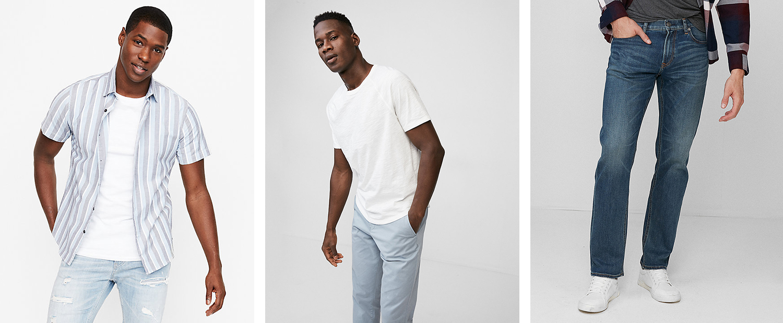 mens-short-sleeve-shirt-crew-neck-tee-dark-wash-365-comfort-jeans