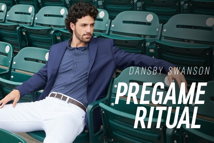 how atlanta s dansby swanson stays laser focused on game day the