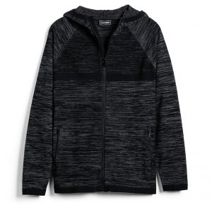 marled-zip-front-athletic-sweater-hoodie