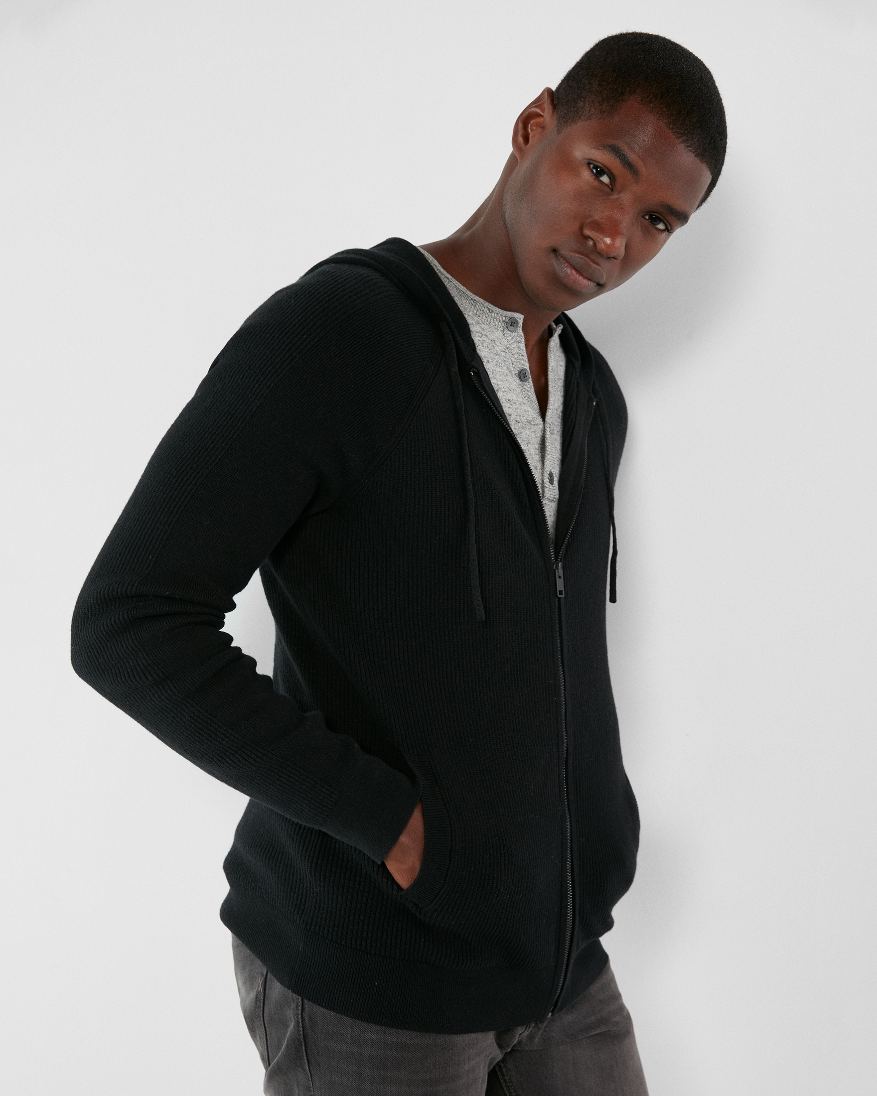 ribbed-full-zip-hooded-sweater