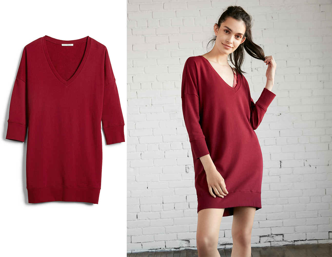 london-sweatshirt-dress