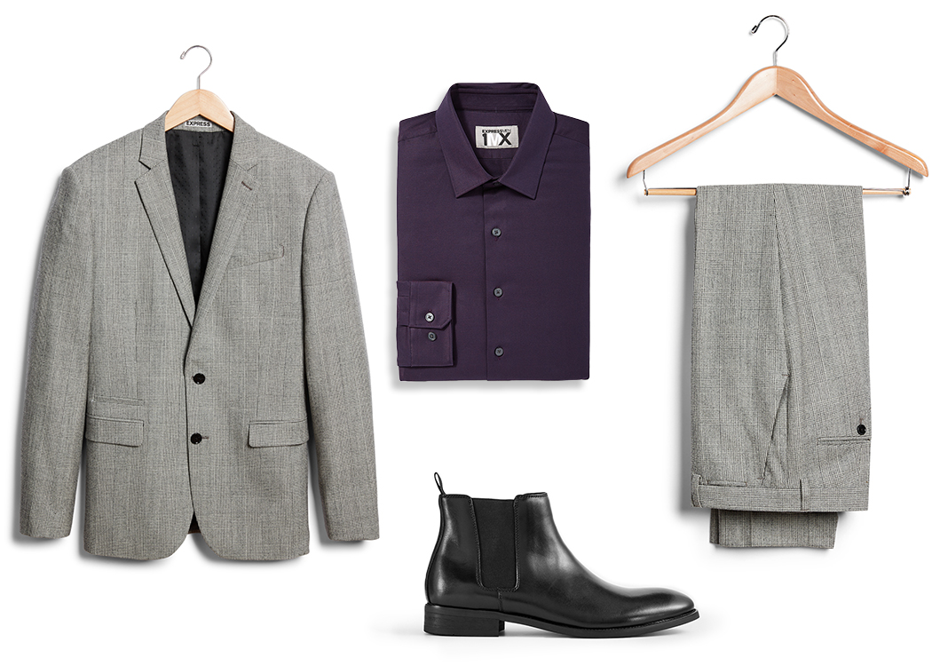 gray-suit-purple-1MX-dress-shirt-black-chelsea-boot