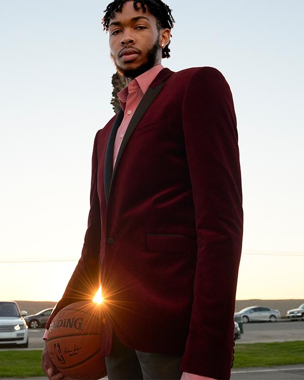 brandon-ingram-slim-burgundy-velvet-cotton-tuxedo-jacket