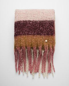 pink-grapefruit-striped-plaid-fringe-blanket-scarf