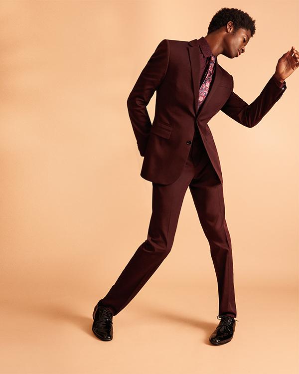 Alton-Mason-Jr-slim-burgundy-cotton-sateen-suit