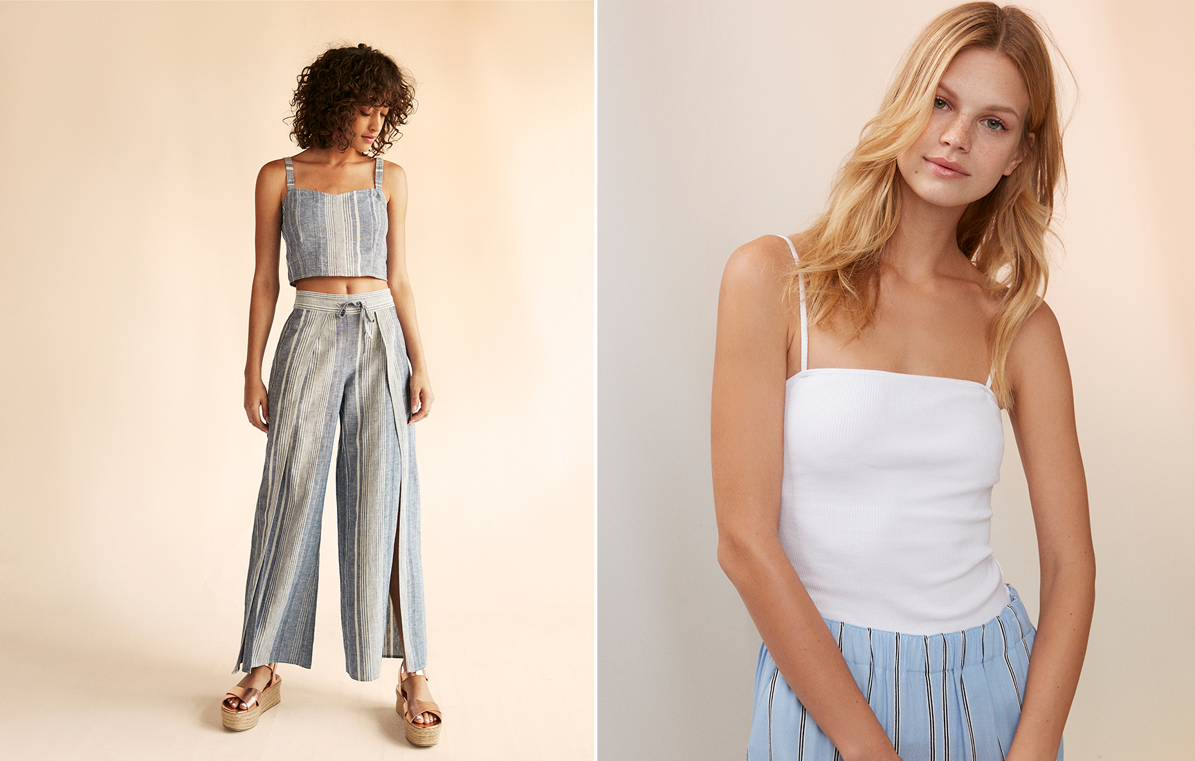 ribbed-square-neck-cami-wide-leg-pants