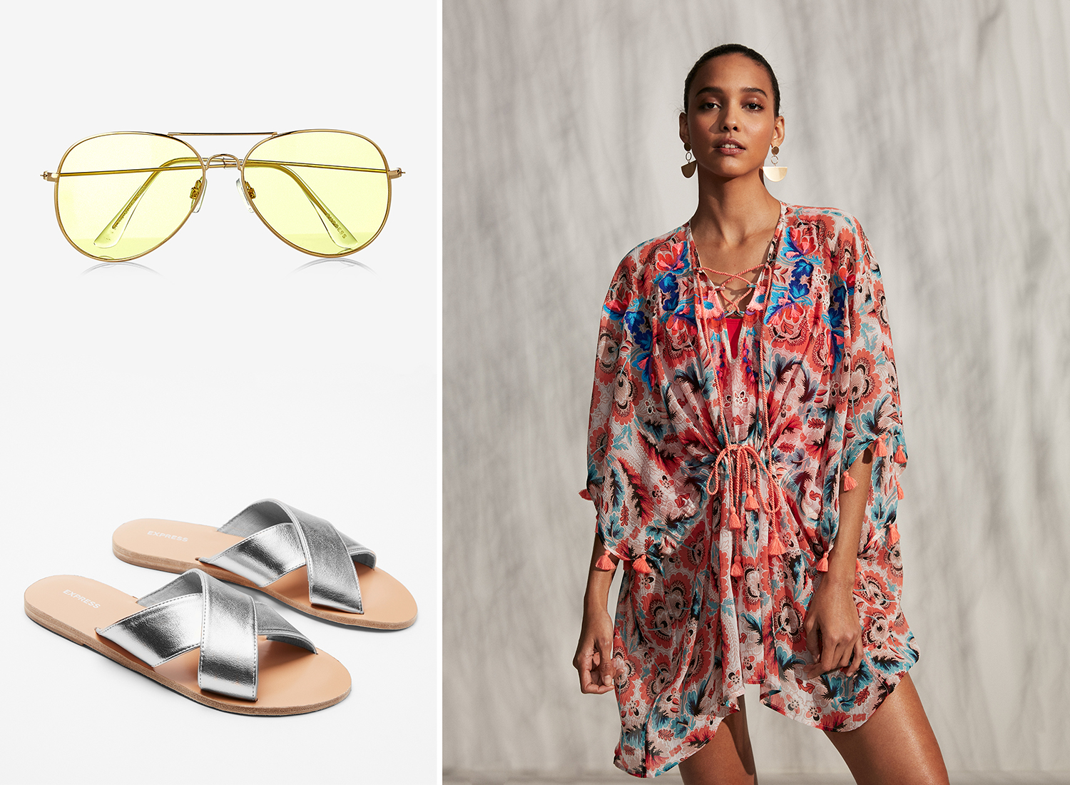 embroidered-floral-front-cover-up-aviators-criss-cross-sandals