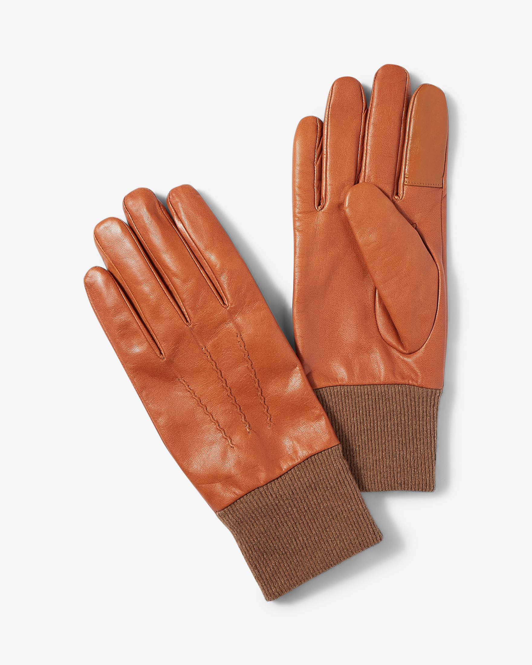 brown-genuine-leather-gloves