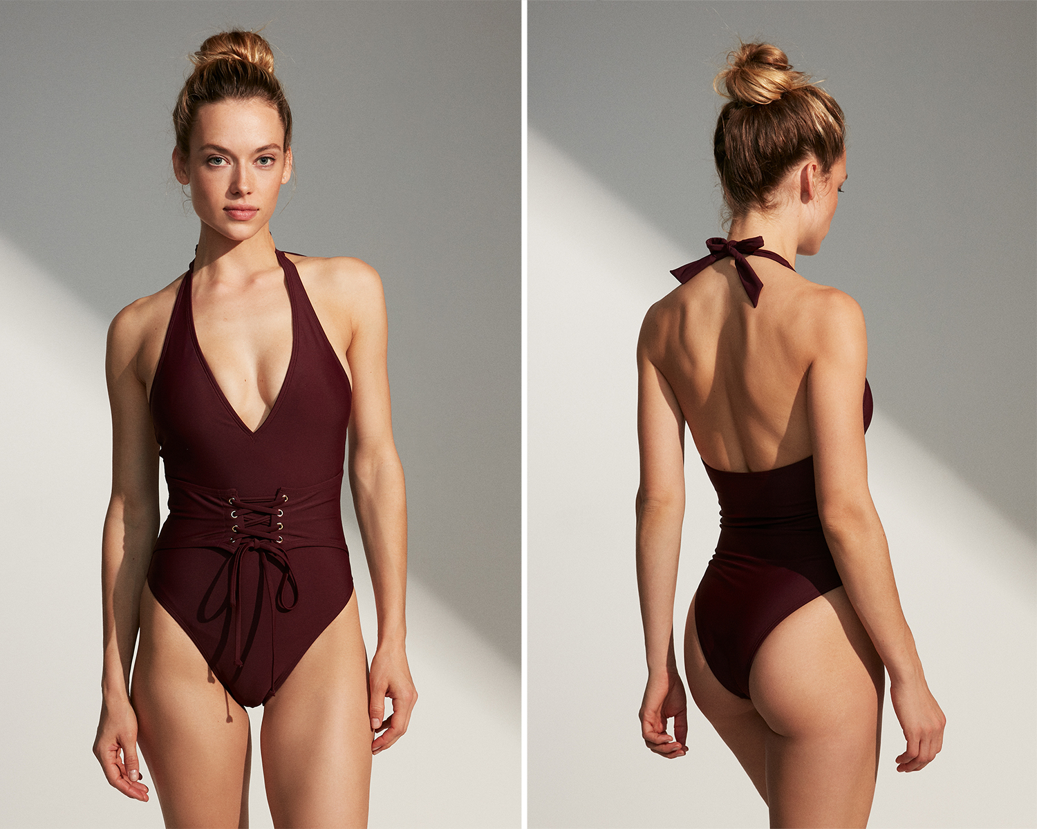 00bf2891a37 Getaway-Friendly Swimsuits That Show Off Your Shape – The Edit x Express