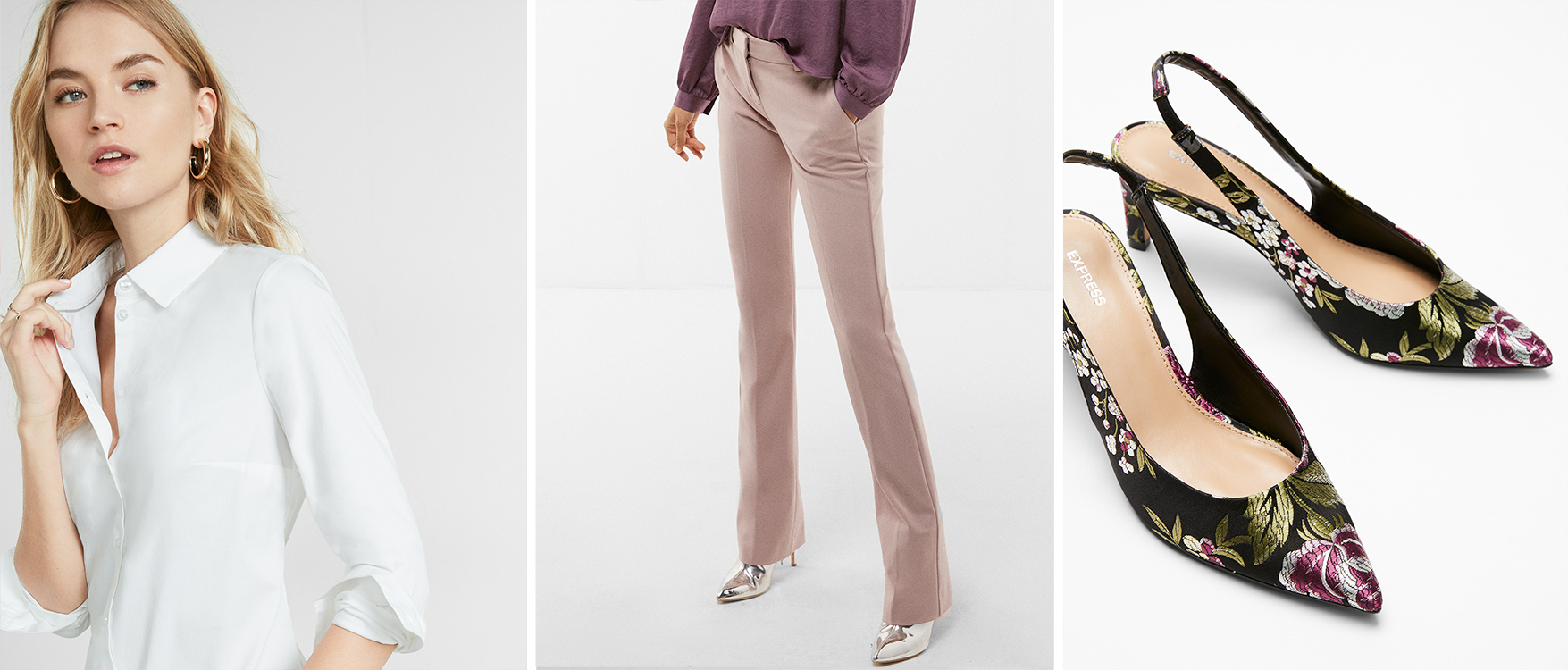 refinery29-mid-rise-barely-boot-pant-long-sleeve-shirt-kitten-heels
