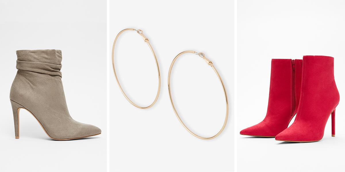 womens-boots-hoop-earrings