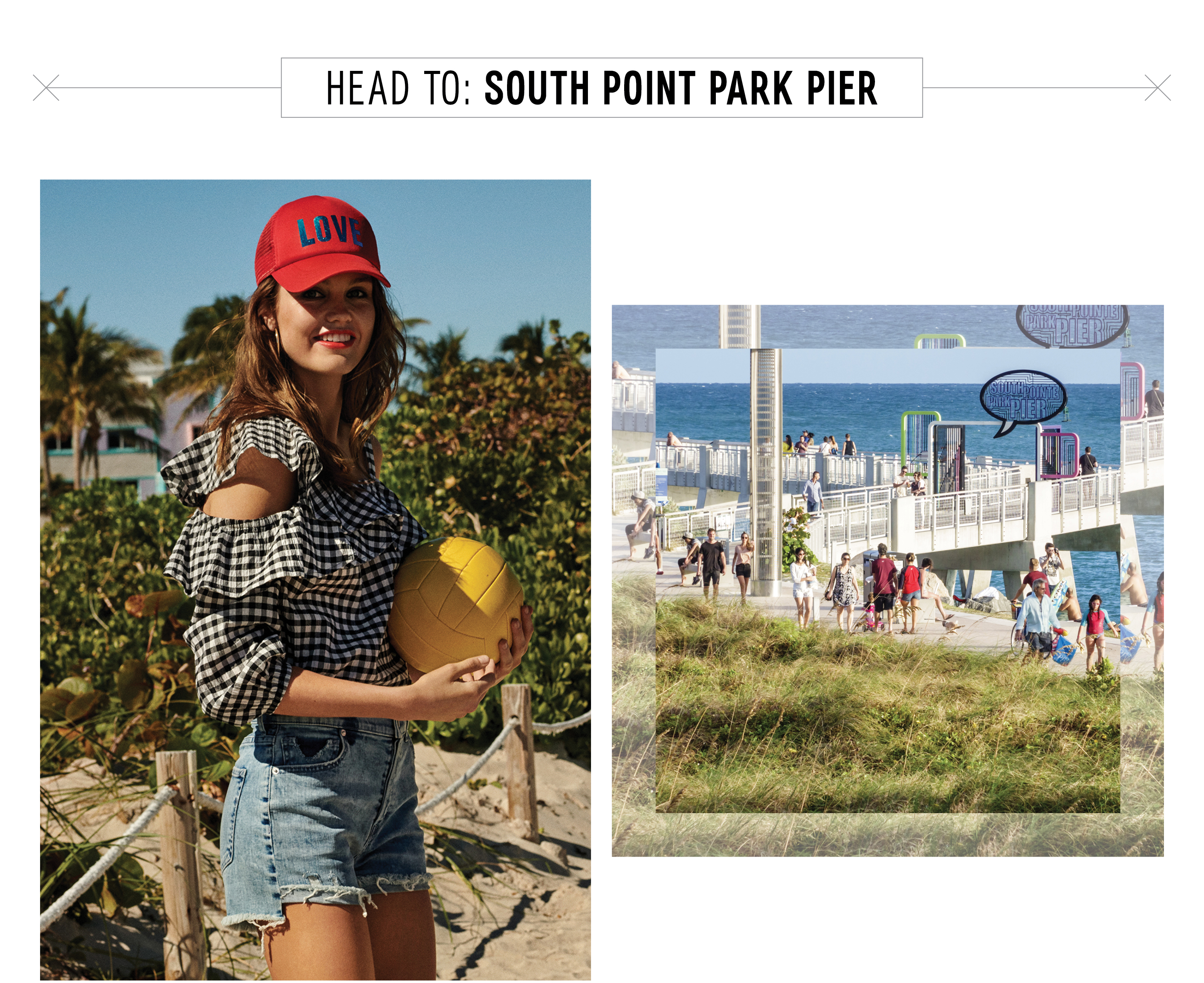 south-point-park-pier-featuring-womens-gingham-trend-shorts