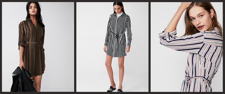striped-shirt-dresses
