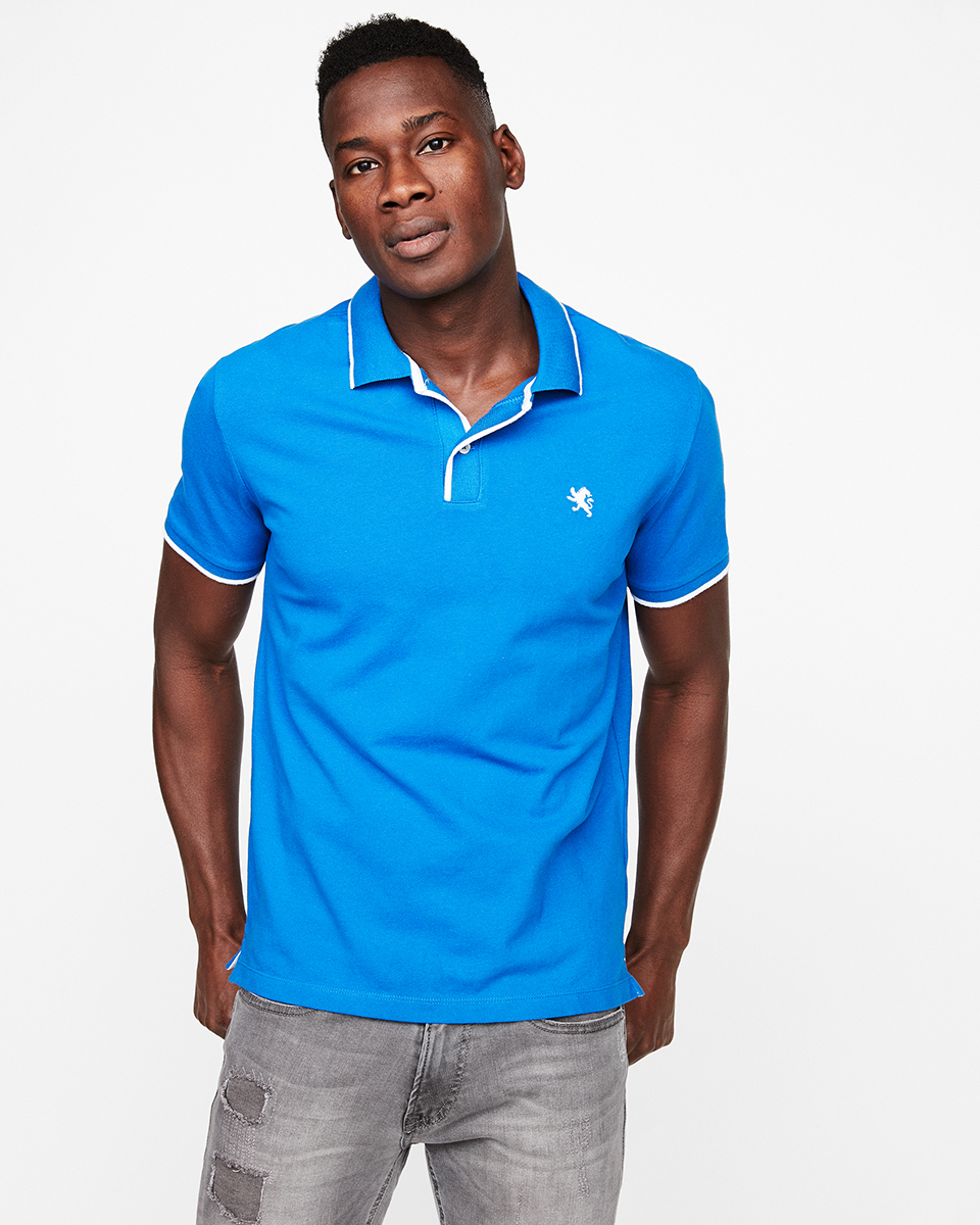 mens-blue-solid-tipped-polo