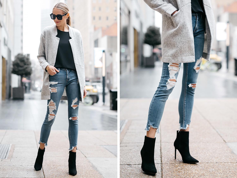 womens-gray-coat-black-tee-denim-perfect-jeans