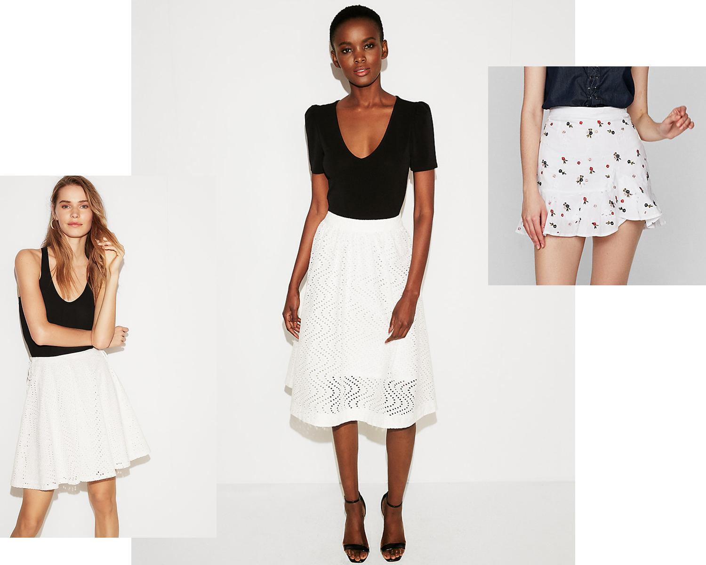 eyelet-skirts