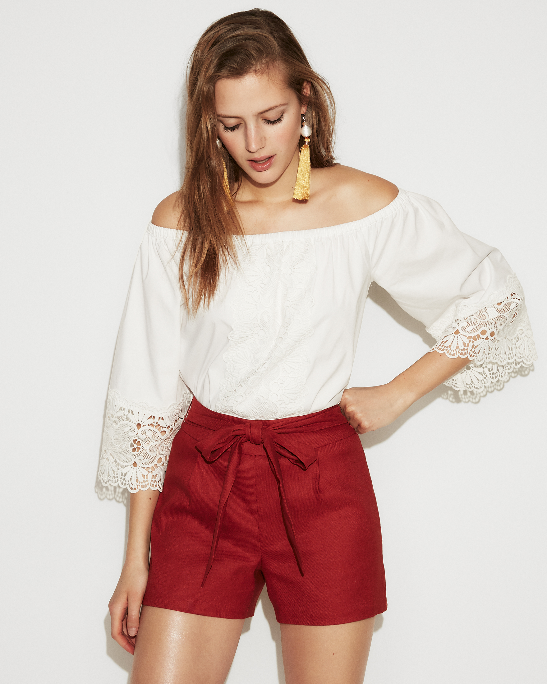 high-waisted-linen-short
